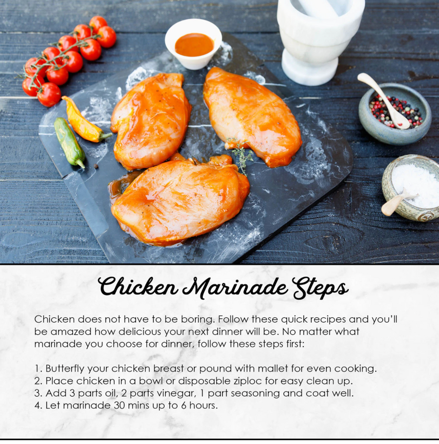 Spring Chicken - Marinade Gift Kit