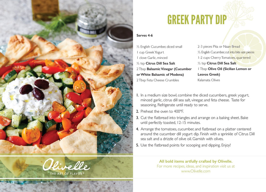 Green Party Dip Mix Recipe Kit