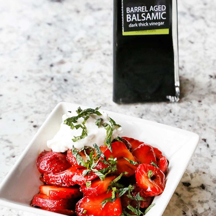 Barrel Aged Dark Balsamic Vinegar