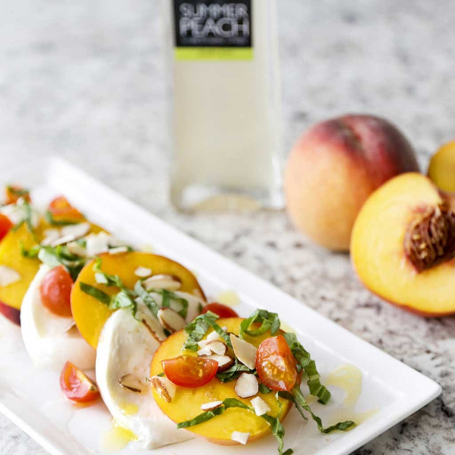 Summer Peach Barrel Aged Balsamic Vinegar