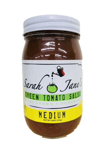 Sarah Jane's Green Tomato Salsa - Medium