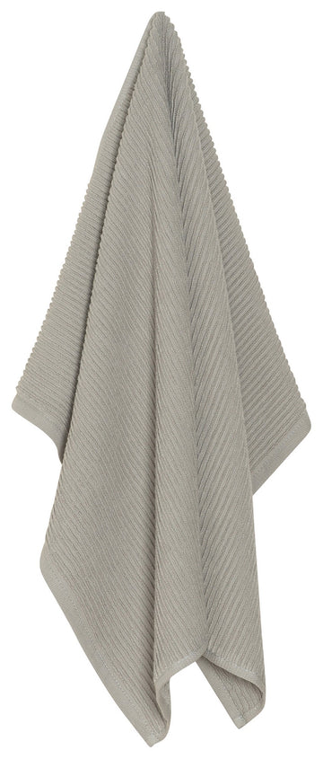 Ripple Dishtowel - London Grey