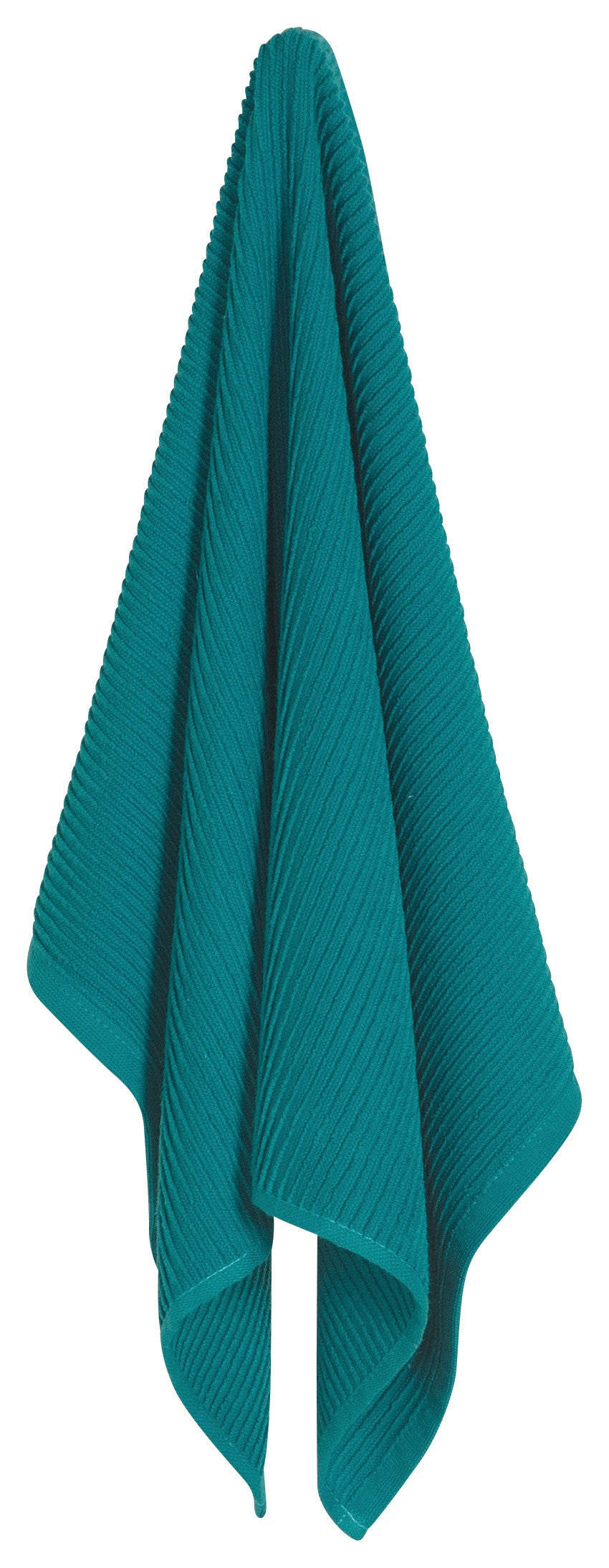 Ripple Dishtowel - Peacock
