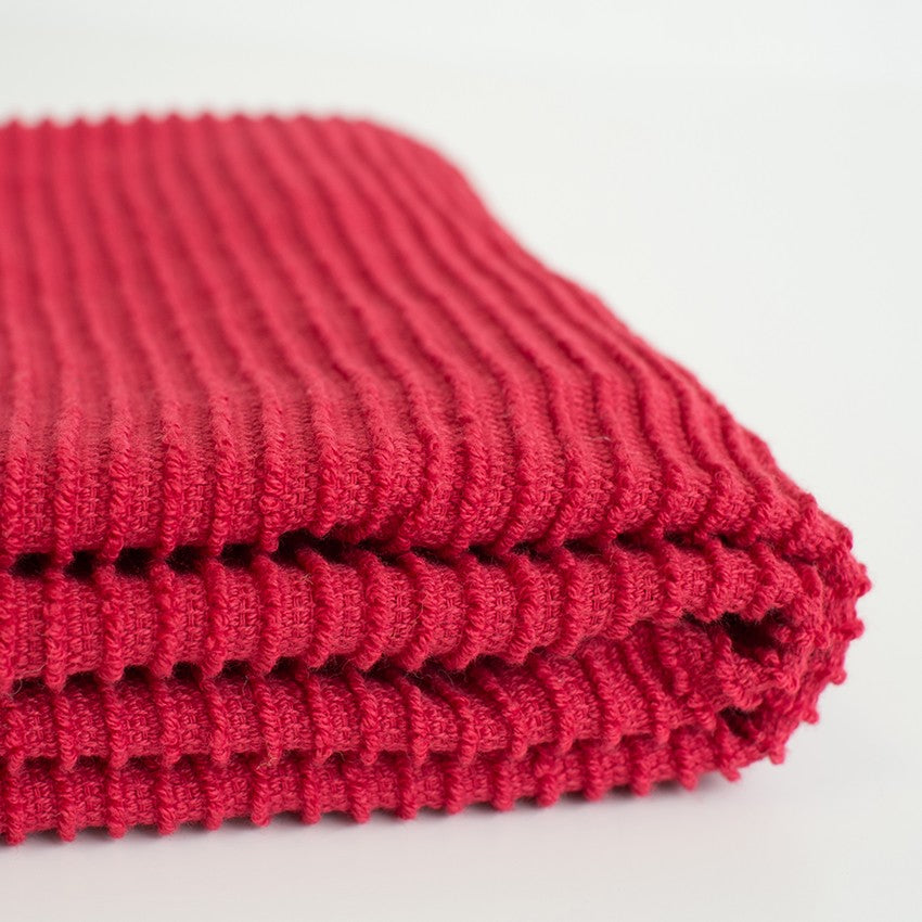 Ripple Dishtowel - Red