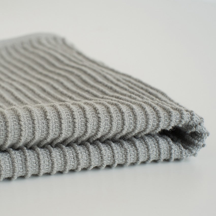 Ripple Dishcloths - London Grey