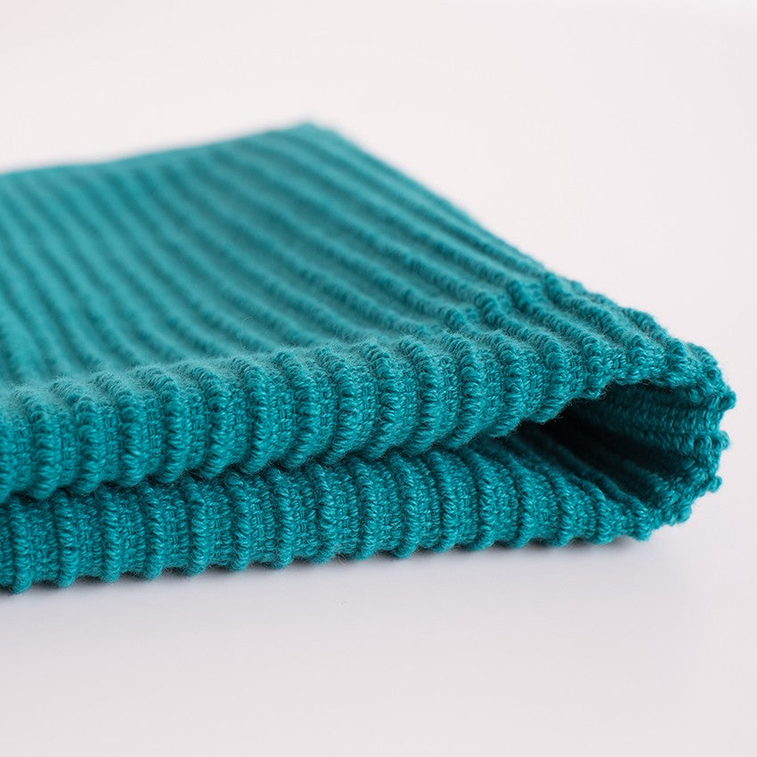 Ripple Dishcloths - Peacock
