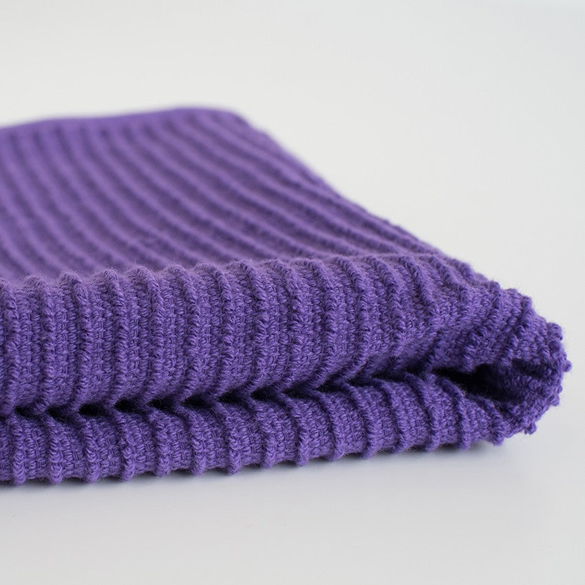 Ripple Dishcloths - Prince Purple