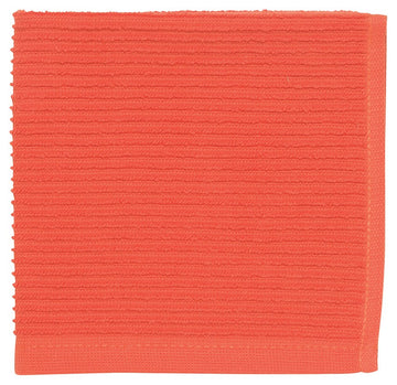 Ripple Dishcloths - Tangerine
