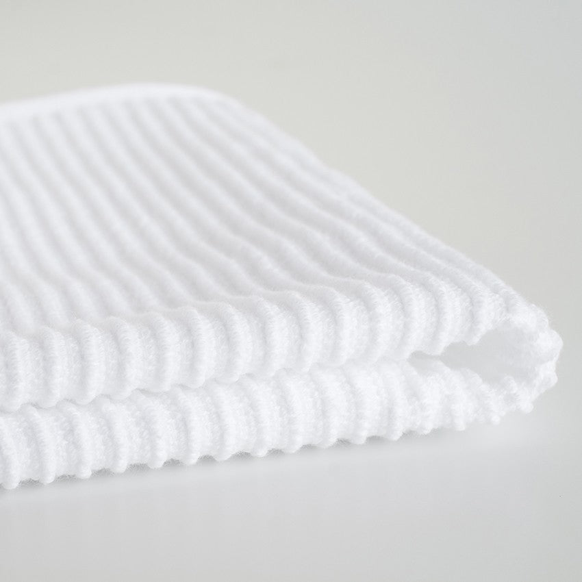 Ripple Dishcloths - White