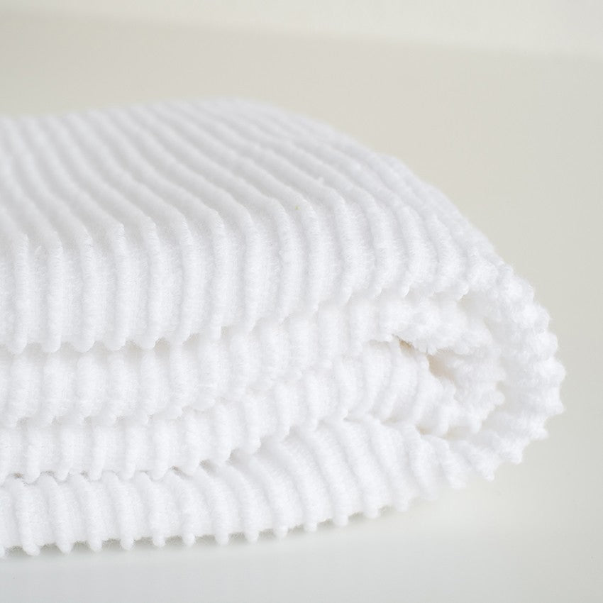 Ripple Dishtowel - White