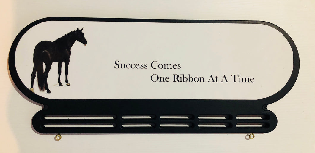 Success comes one ribbon at a time.