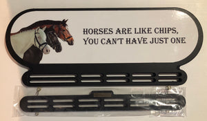Horses are like chips, you can't stop at one