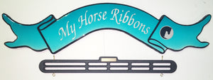 My Horse Ribbons AQUA