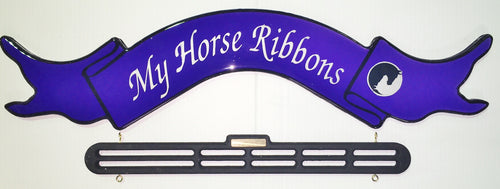 My Horse Ribbons   ROYAL BLUE