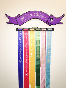 My Horse Ribbons PURPLE