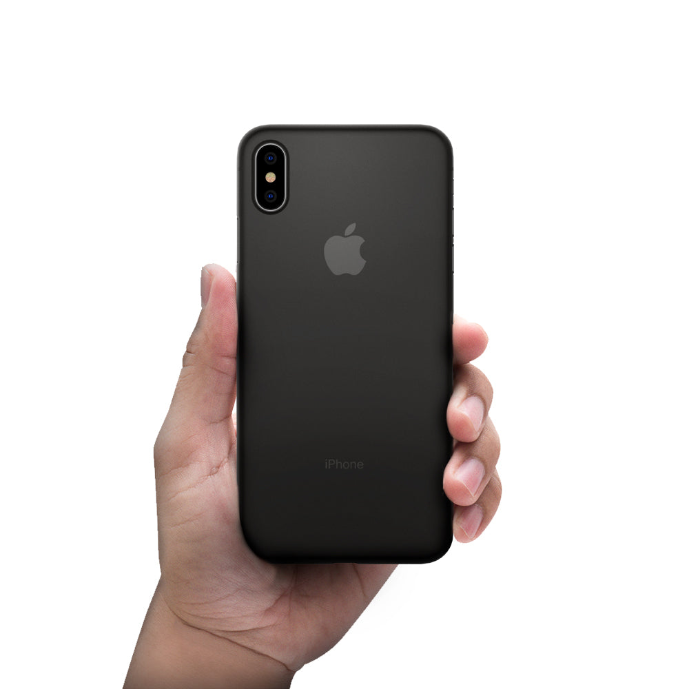 buy popular e6d25 8acec Spigen iPhone XS Max Case Air Skin Black