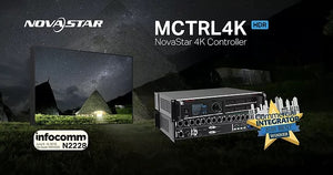 NovaStar's MCTRL4K wins BEST VIDEO PROCESSOR award at InfoComm