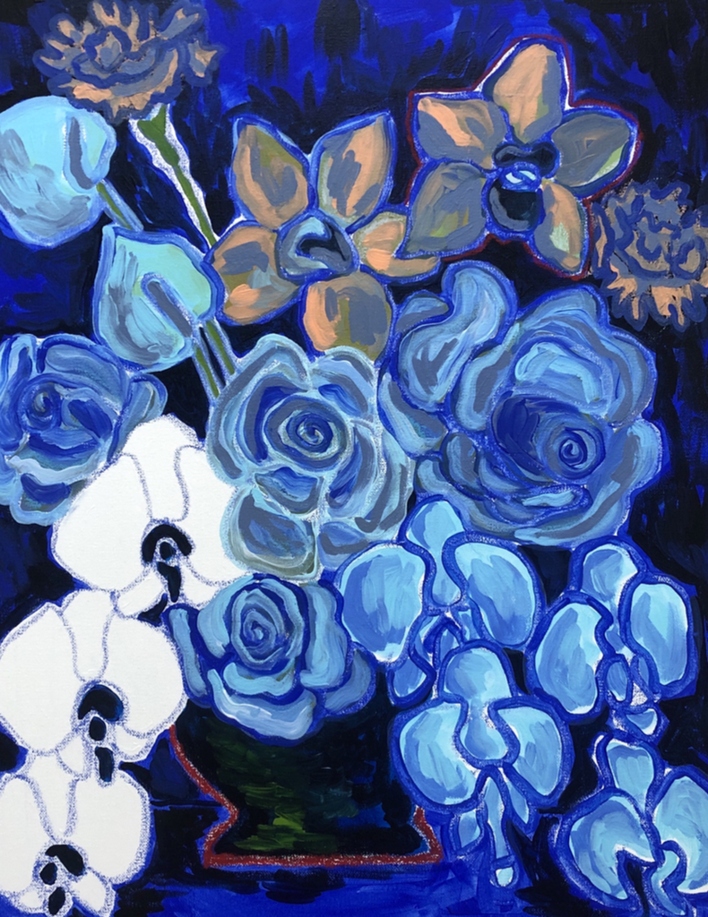Arrangement in Blues - Print
