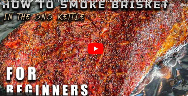 Slow 'N Sear® Kettle Smoked Brisket | Ricky's Foods