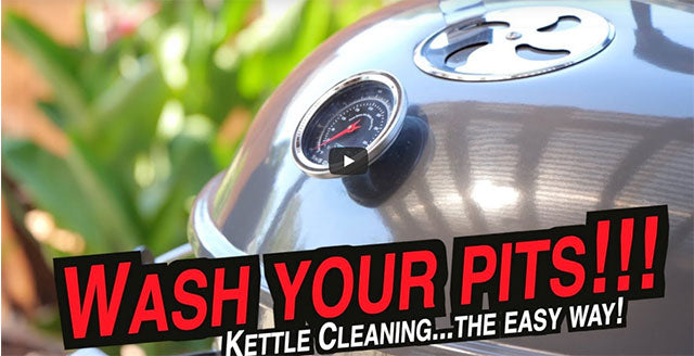 How to Clean Your Slow 'N Sear® Kettle Grill