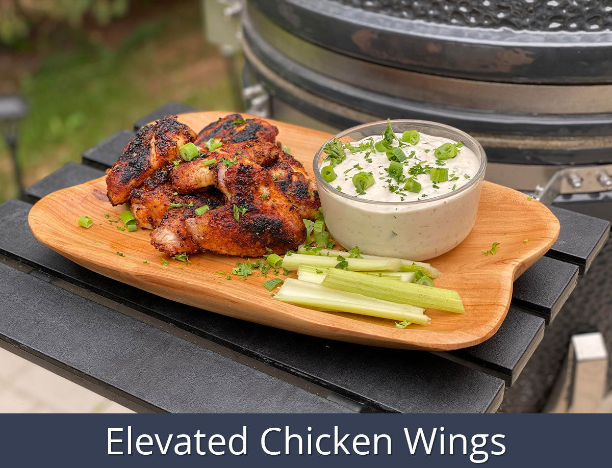 Elevated Chicken Wings Recipe | SnS Grills