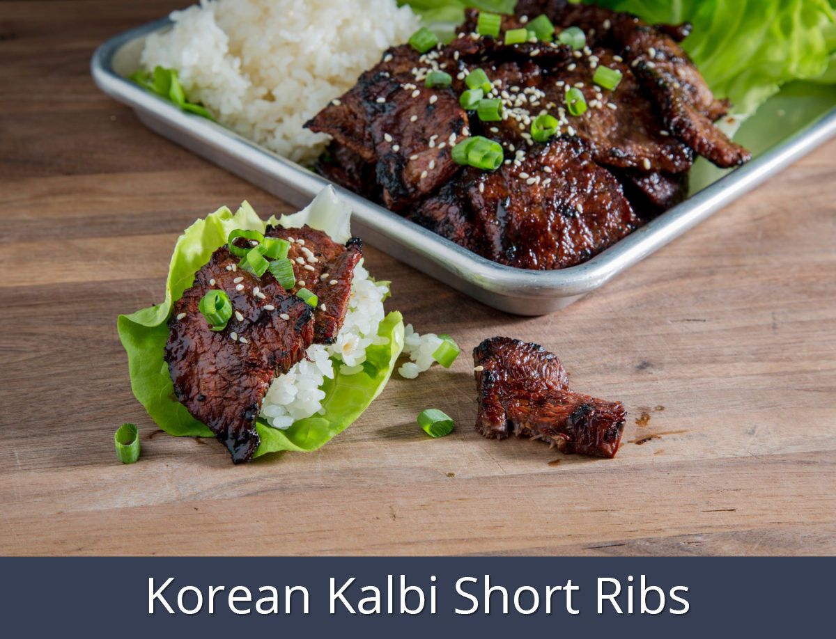Korean Kalbi Short Ribs Recipe | SnS Grills