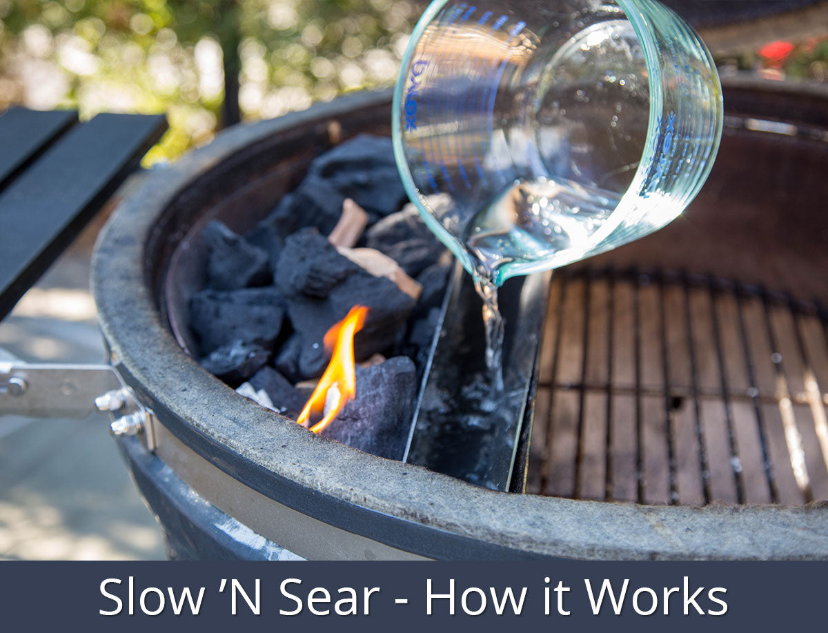 Slow 'N Sear®- How it Works | SnS Grills