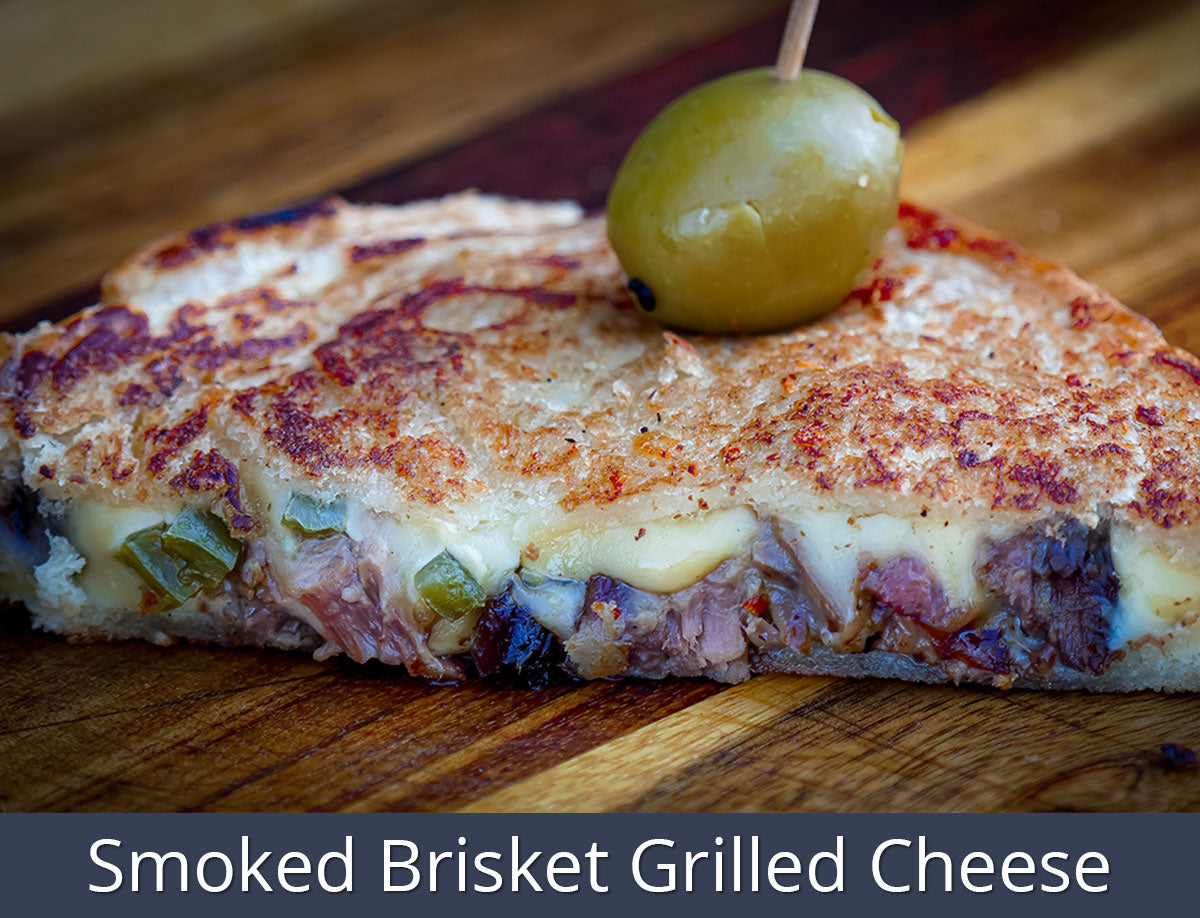 Smoked Brisket Grilled Cheese Recipe | SnS Grills