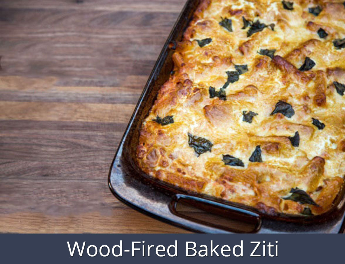 Wood-Fired Baked Ziti | SnS Grills