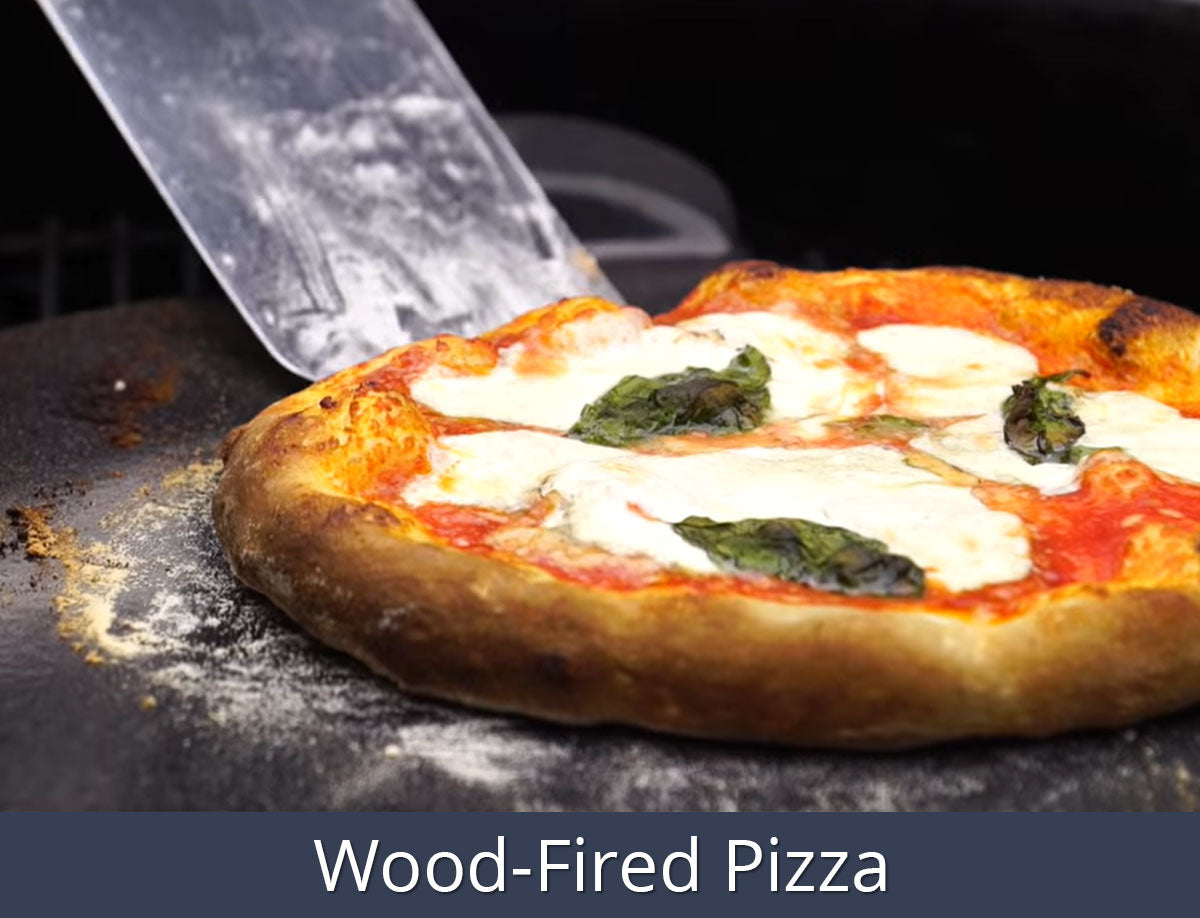 Wood-Fired Pizza Recipe | SnS Grills