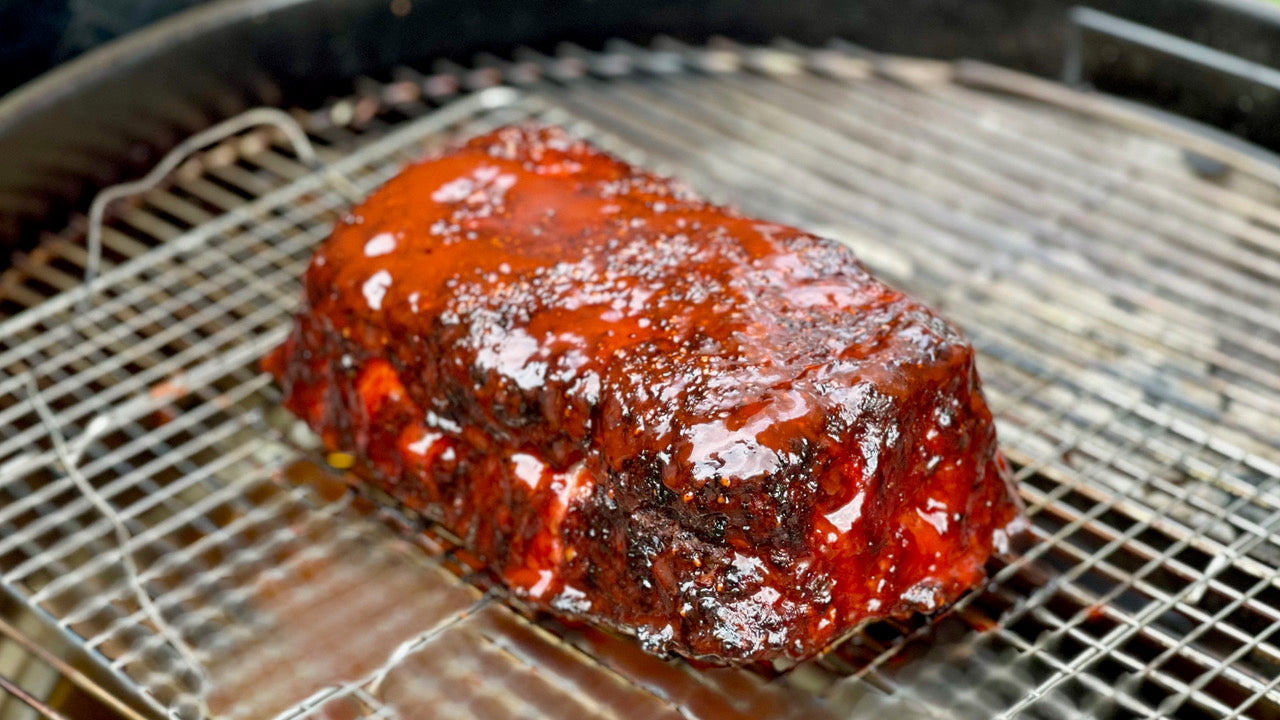 Smoked Meatloaf Recipe Image | SnS Grills