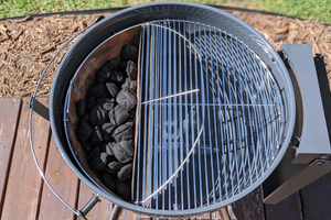 The Slow 'N Sear® Original Kettle Grill gives you all the performance you'd expect from a kettle style charcoal grill and is customized to work with our Slow 'N Sear® accessory for unrivaled searing power, low 'n slow smoking, and true two-zone cooking capability.