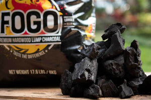 FOGO charcoal is the favorite lump charcoal of SnS Grills