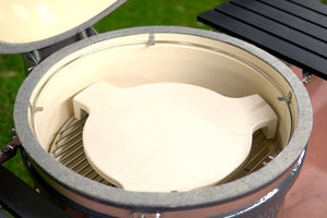 Ceramic Deflector Plate for Slow 'N Sear Kamado