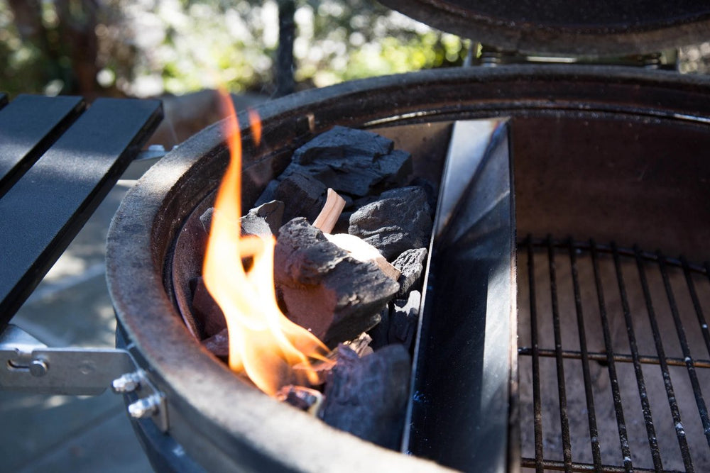 Maximize the Possibilities of your Kettle Grill with the Slow 'N Sear 1.0