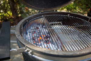 Simplify & Elevate Any Cook with the Two-Zone Cooking Grate with EasySpin™ from SnS Grills