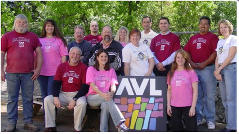 2005 AVL Looms Team