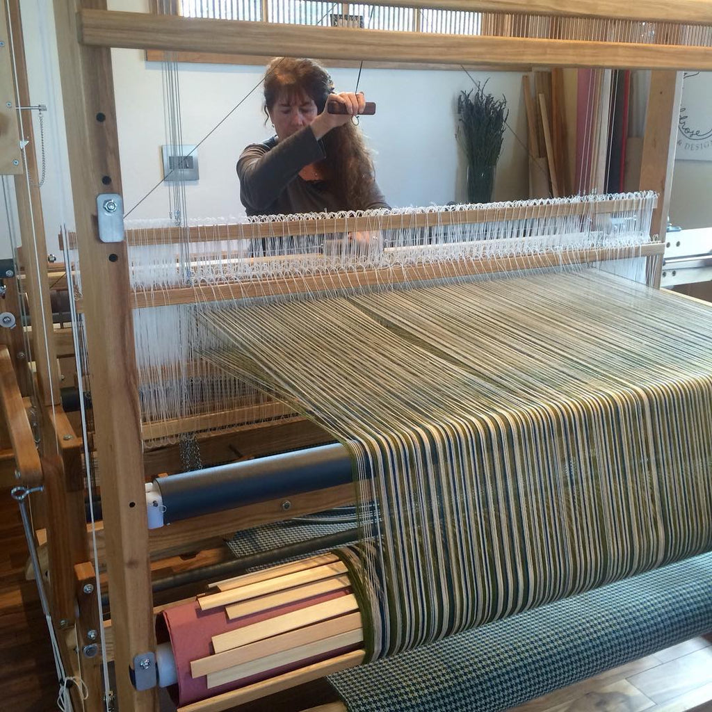Interview with Barb Lynn of Wildrose Textiles – AVL Looms Inc
