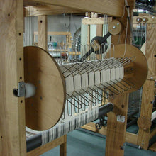 1/2 Yard Sectional Beam on AVL Loom