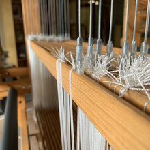 Texolv heddles on AVL Loom