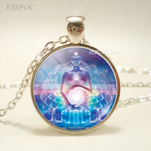Load image into Gallery viewer, Chakra Symbols Pendant