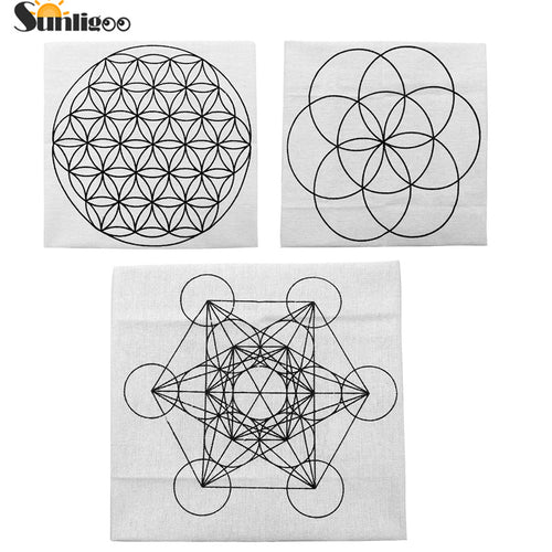 Printed Sacred Geometry Cloth