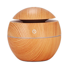 Load image into Gallery viewer, Wood Grain Essential Oil Diffuser