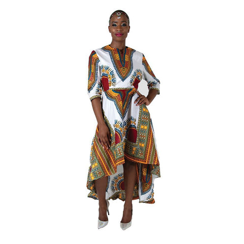 Dashiki High low Dress