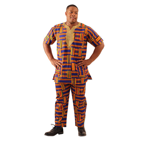 Royal Kente Pant Set