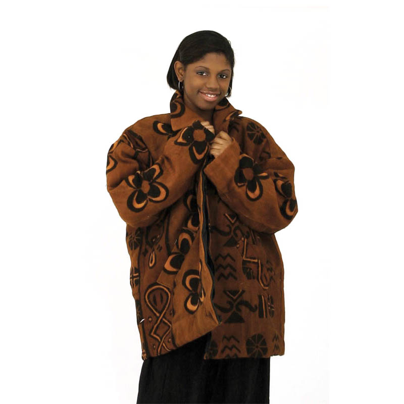 Mud Cloth Coat
