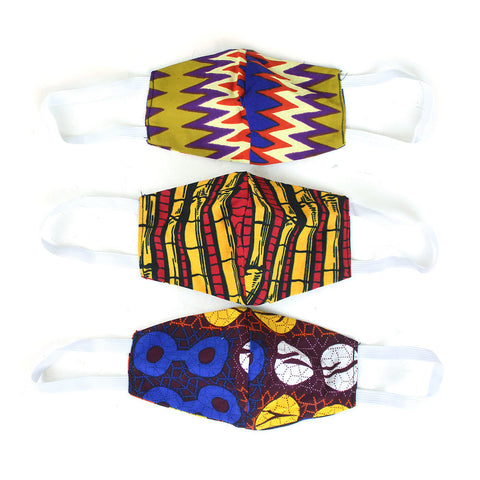 Ghanaian Face Mask (Set of 3)