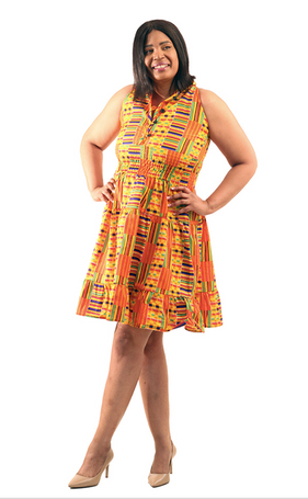 Summer Kente Dress