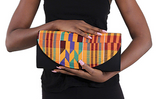 Colourful Kente Clutch