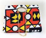 African Print Hand Bag